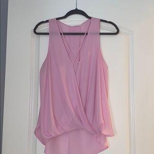 Light pink boutique shirt